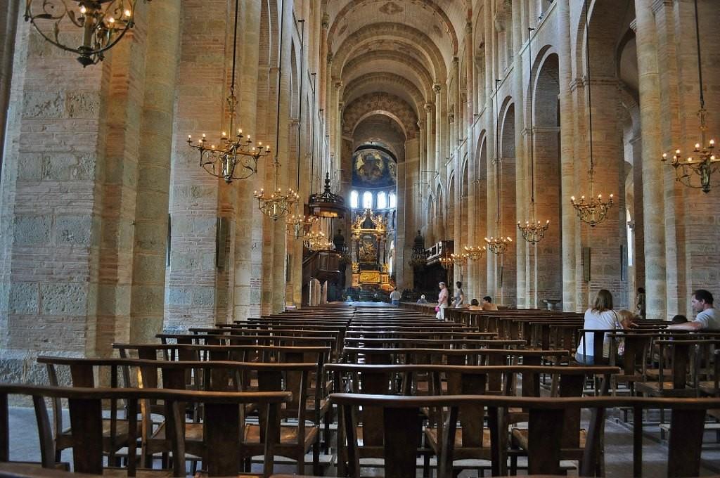 Zdjęcia: Tuluza, Midi-Pyrénées, Tuluza, Bazylika Saint Saturnin (Sernin), FRANCJA