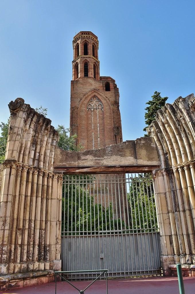 Zdjęcia: Tuluza, Midi-Pyrénées, Tuluza, ruiny dawnego kościoła franciszkańskiego, FRANCJA