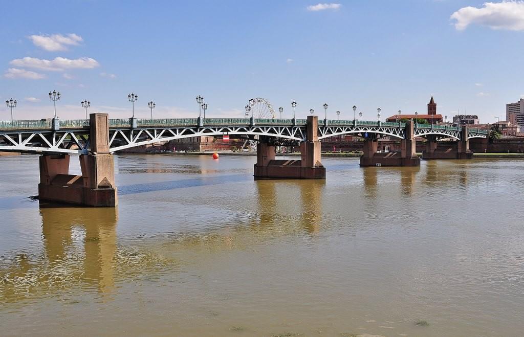 Zdjęcia: Tuluza, Midi-Pyrénées, Tuluza, La Garonne, pont neuf, FRANCJA