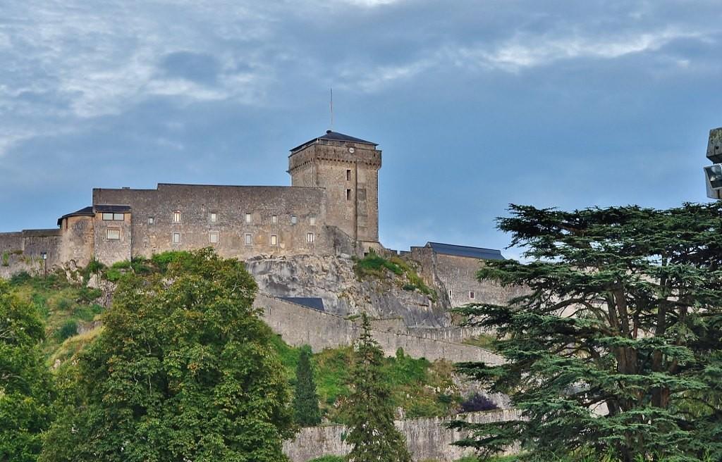 Zdjęcia: Lourdes, Midi-Pyrénées, Lourdes, zamek, FRANCJA