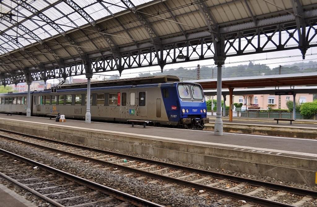 Zdjęcia: Lourdes, Midi-Pyrénées, Lourdes, kolej, FRANCJA