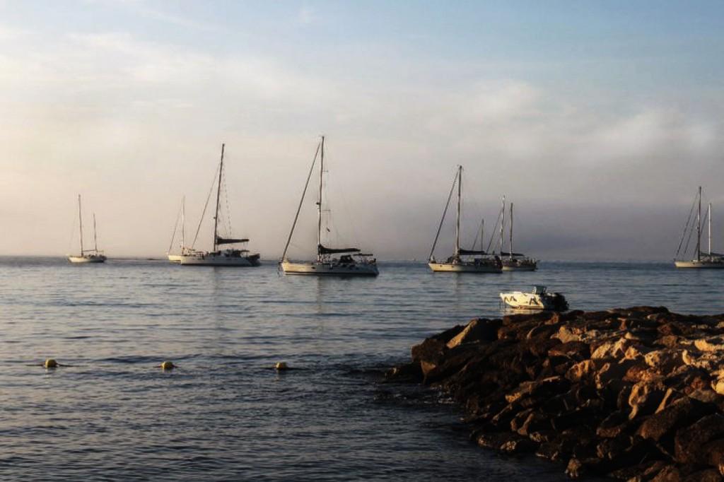 Zdjęcia: La Ciotat, Prowansja, wschód w La Ciotat, FRANCJA
