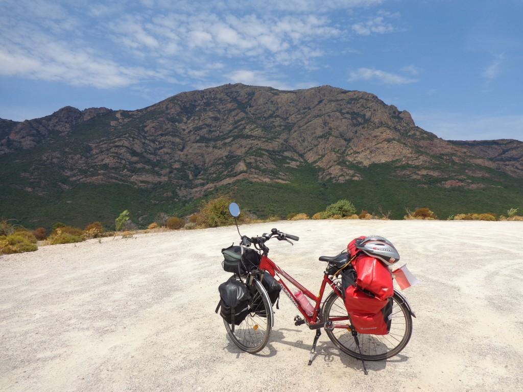 Zdjęcia: Parc Naturel Regional de Corse, Korsyka., Rowerem na Korsyce., FRANCJA