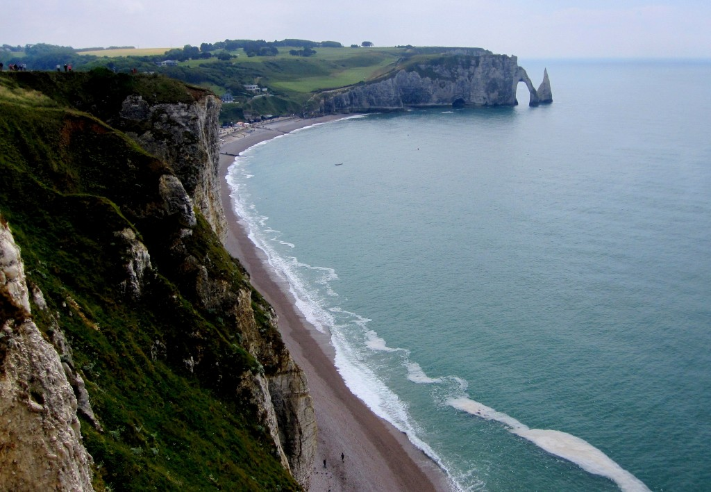 Zdjęcia: Etretat, Normandia, normandzkie klify..., FRANCJA