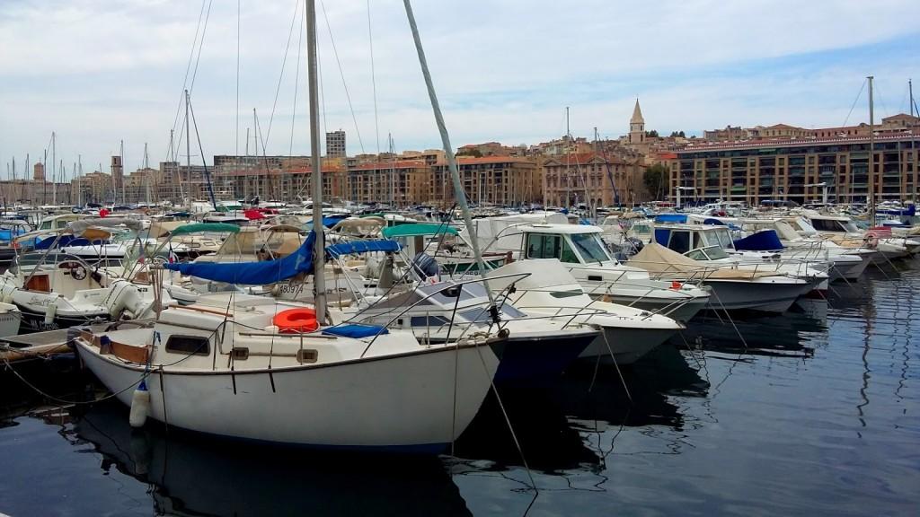 Zdjęcia: Marsylia, Vieux port, FRANCJA