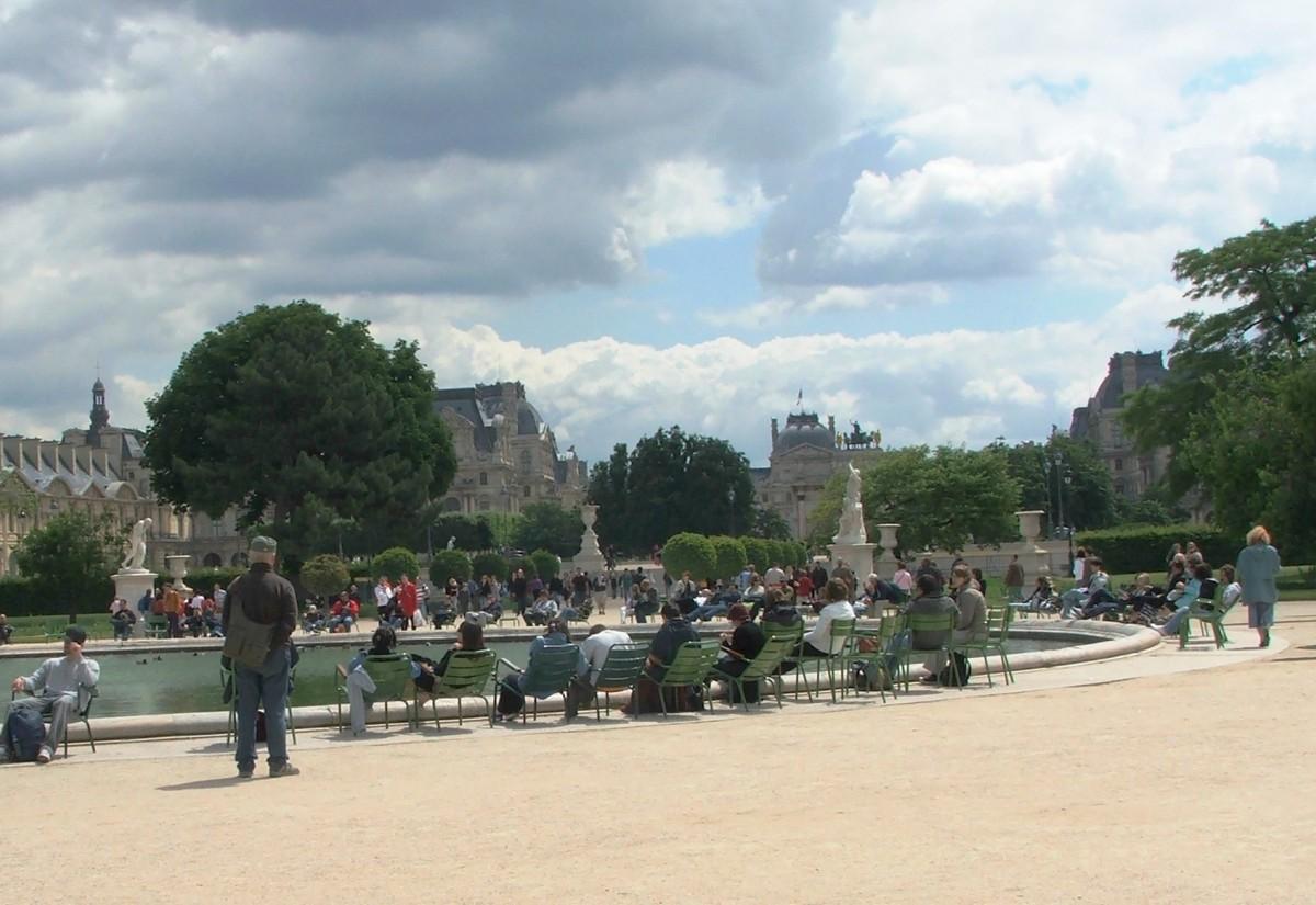 Zdjęcia: Paryż, Obrazek z Ogrodów Tuileries, FRANCJA
