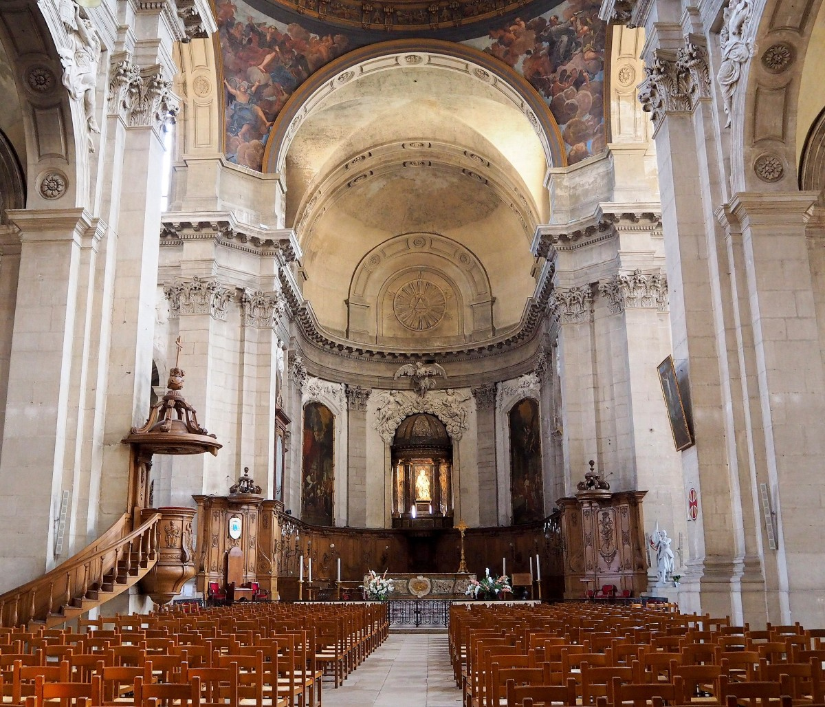 Zdjęcia: Cathédrale Notre-Dame-de-l'Annonciation de Nancy, Lotaryngia, w katedrze..., FRANCJA