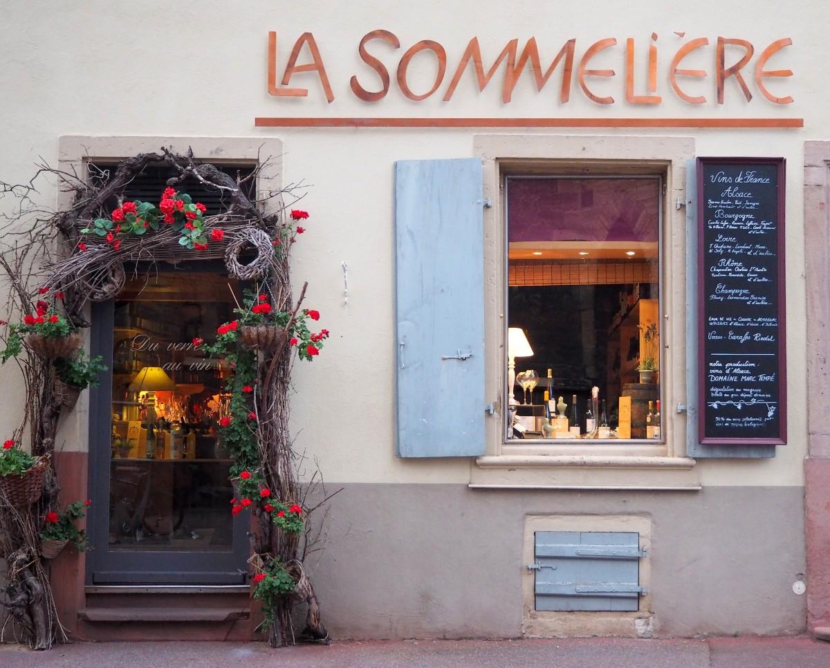 Zdjęcia: Colmar, Alzacja, La Sommeliere..., FRANCJA
