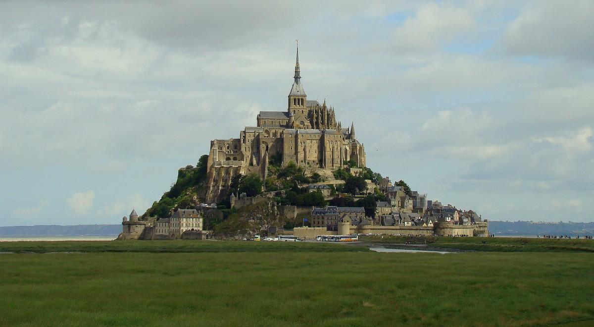Zdjęcia: Abbaye du Mont-Saint-Michel, Normandia, Mont Saint-Michel (2), FRANCJA