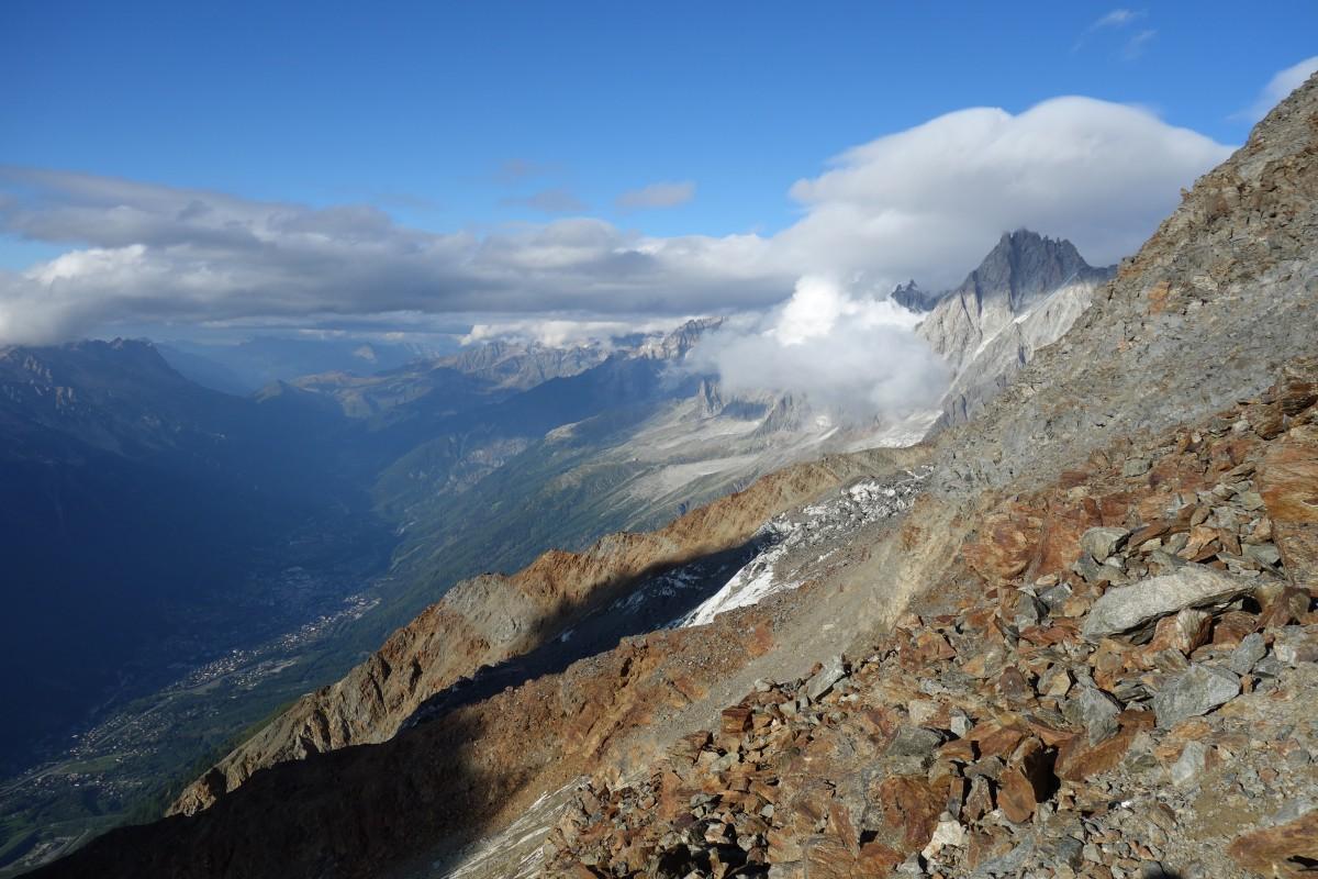 Zdjęcia: Masyw Mont Blanc, Masyw Mont Blanc, Otulony., FRANCJA