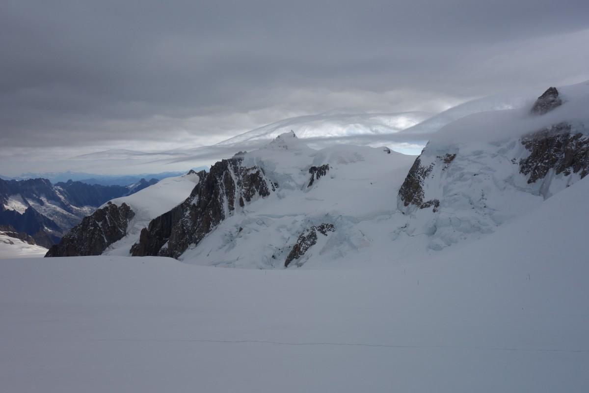 Zdjęcia: Masyw Mont Blanc, Masyw Mont Blanc, Alpejskie krajobrazy., FRANCJA