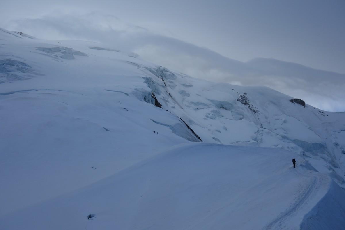 Zdjęcia: Masyw Mont Blanc, Alpy, Samotny., FRANCJA