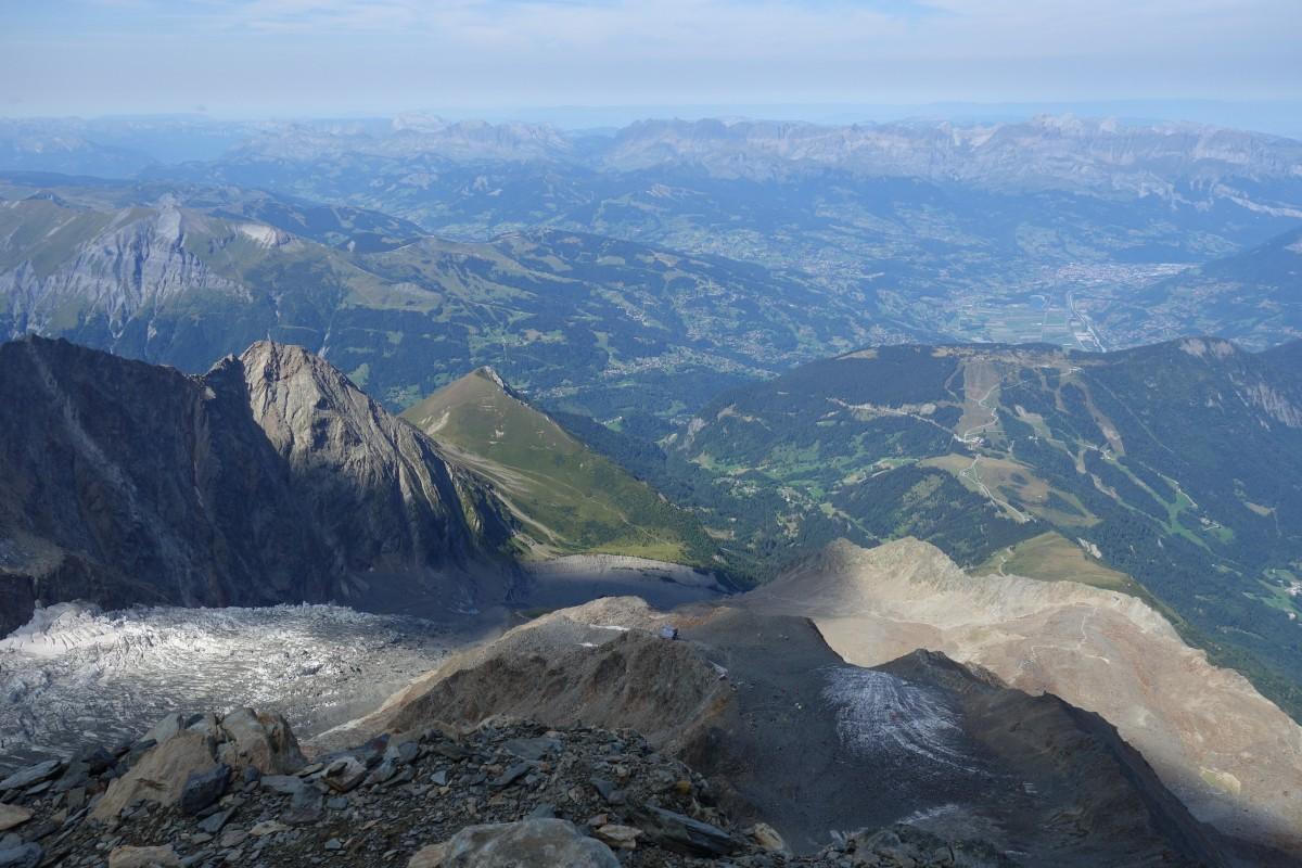 Zdjęcia: Masyw Mont Blanc, Alpy, Tete Rousse 3167 m n.p.m., FRANCJA