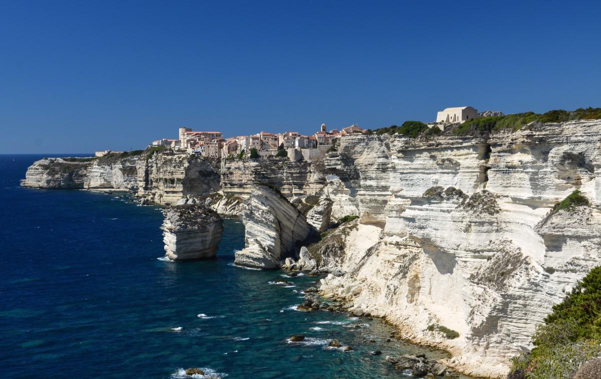 Zdjęcia: Bonifacio, Korsyka, Binifacio, FRANCJA