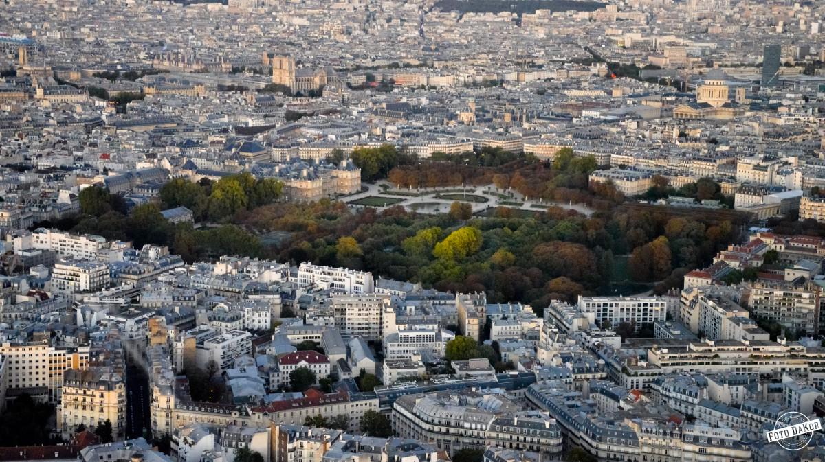 Zdjęcia: Tour Montparnasse, Paryż, Ogród Luksemburski, FRANCJA