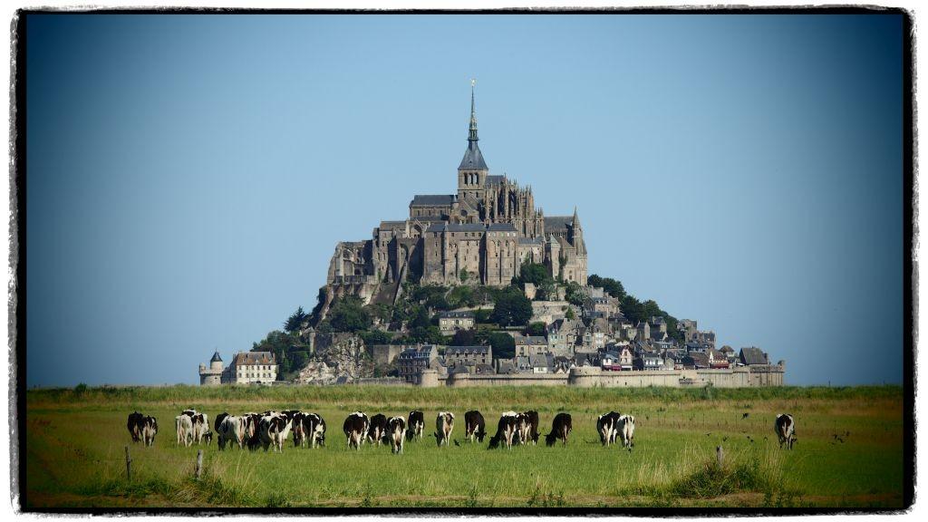Zdjęcia: Mont St. Michel, Normandia, pełny wypas, FRANCJA