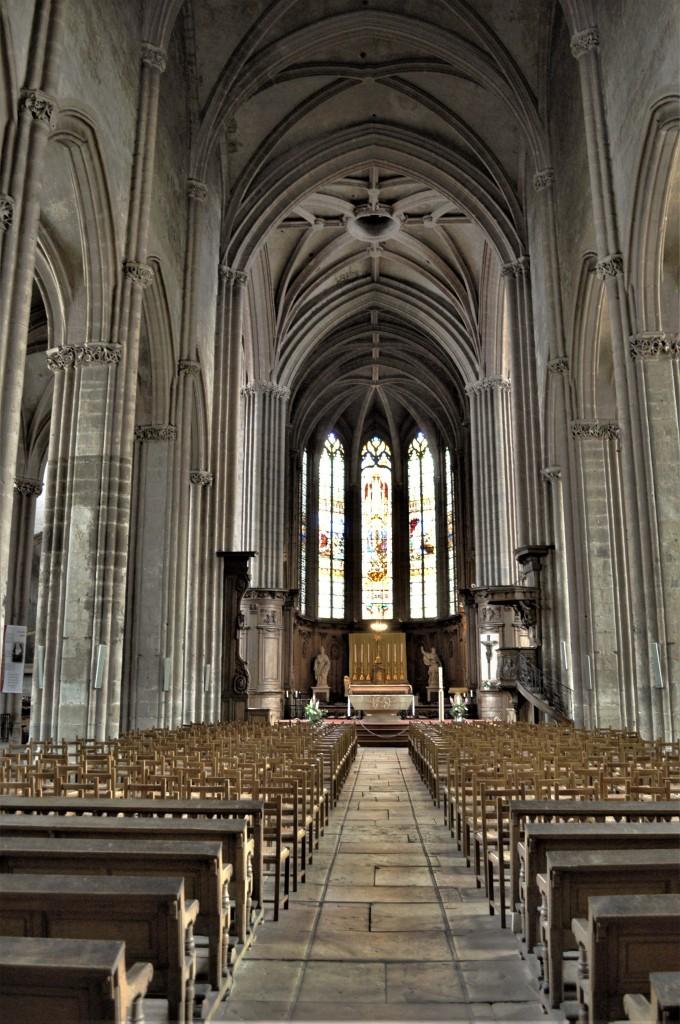 Zdjęcia: Dijon, Burgundia, Dijon, kościół św. Michała, FRANCJA