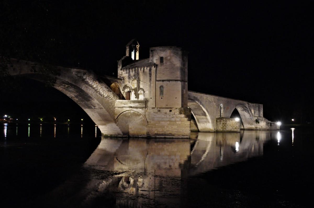 Zdjęcia: Avignon, Prowansja, Avignon, most, FRANCJA