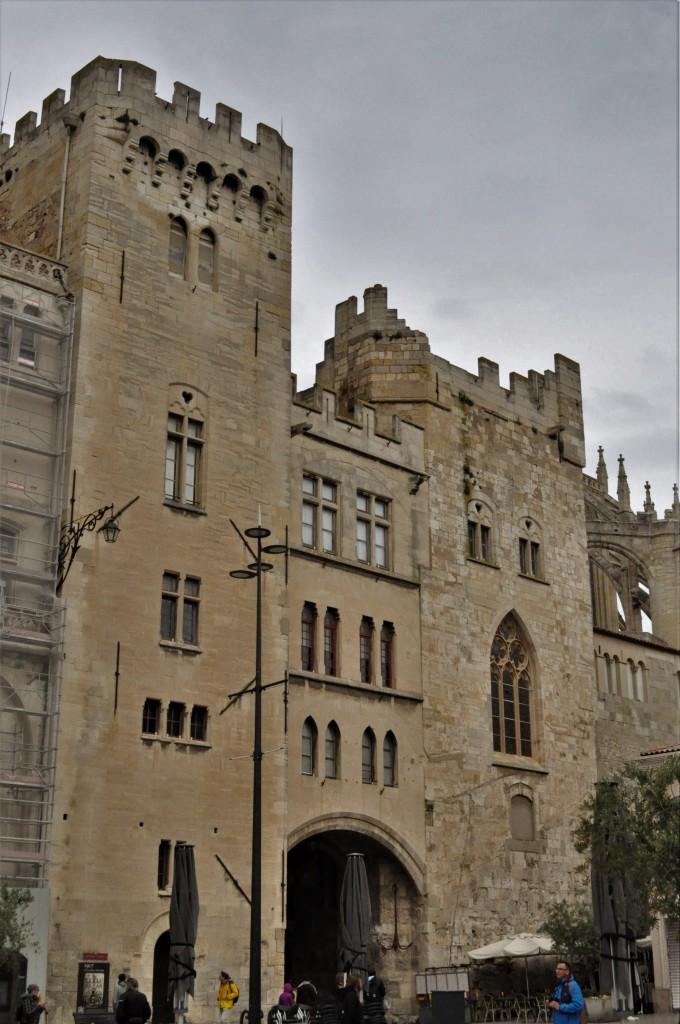 Zdjęcia: Narbonne, Oksytania, Narbonne, pałac biskupi z XIII w., FRANCJA