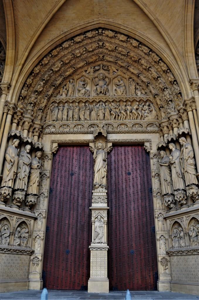 Zdjęcia: Metz, Lotaryngia, Metz, katedra św. Szczepana., FRANCJA