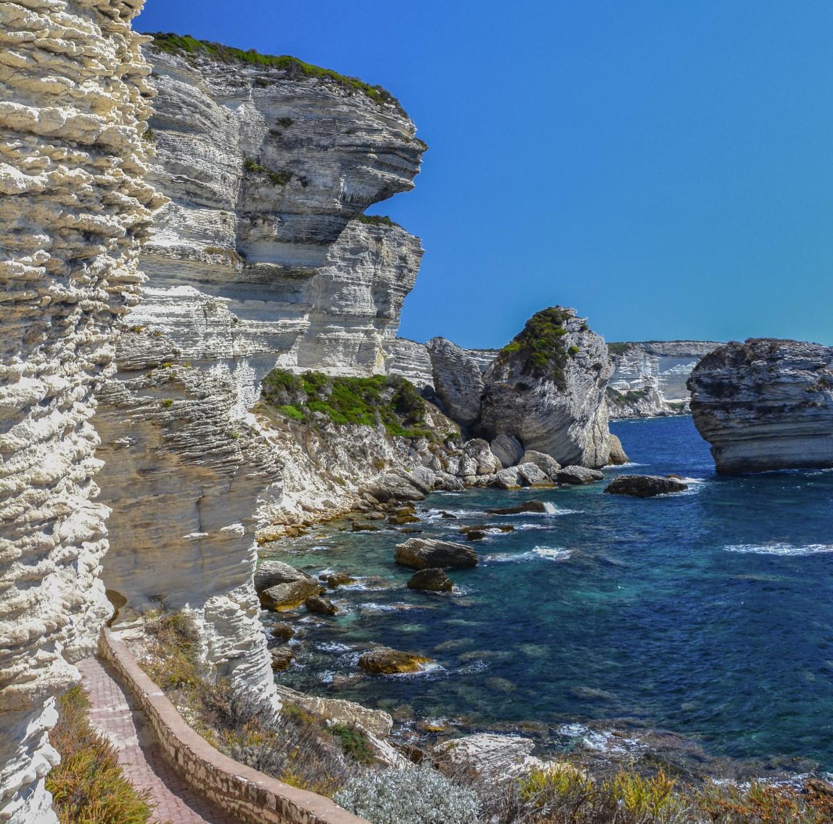 Zdjęcia: Bonifacio, Korsyka, Bonifacio, FRANCJA