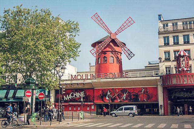 Zdjęcia: Moulin_Rouge, Paryż, Urokliwe miejsce., FRANCJA