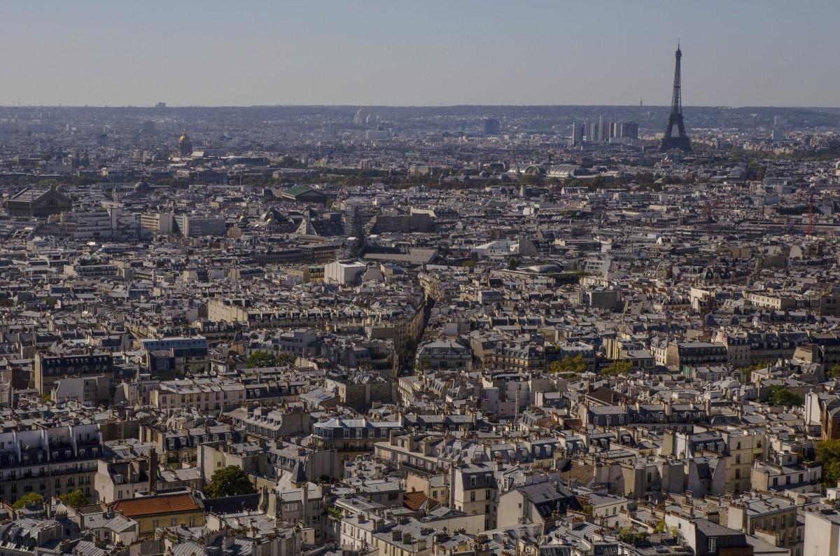 Zdjęcia: Paryż , Paryż, Widok z Bazyliki Sacre Coeur, FRANCJA