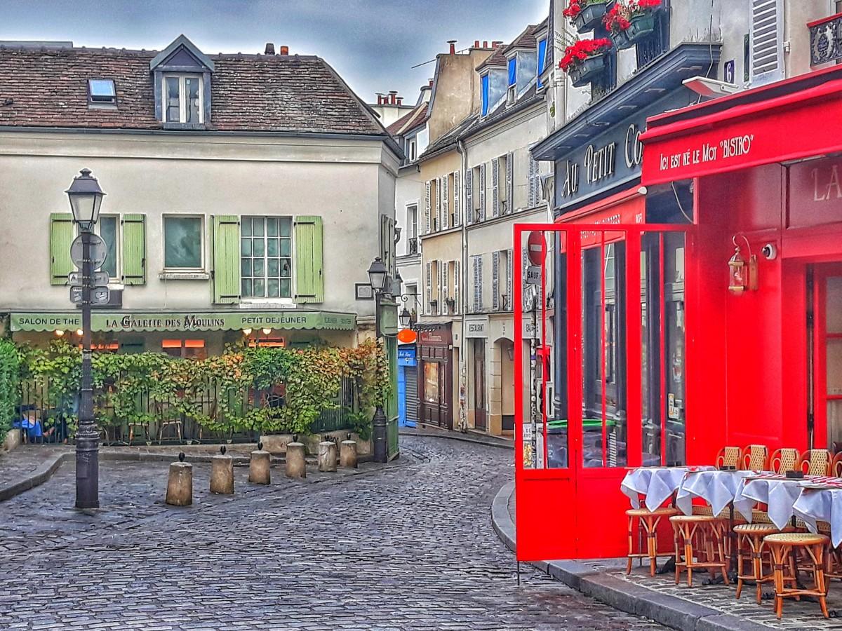 Zdjęcia: Paryż, Zanim wstanie Montmartre, FRANCJA