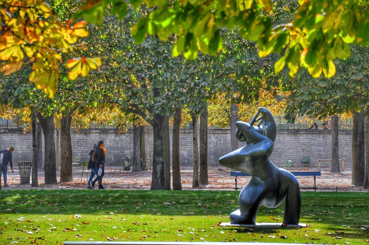 Zdjęcia: PARYŻ, W ogrodzie Tuileries , FRANCJA