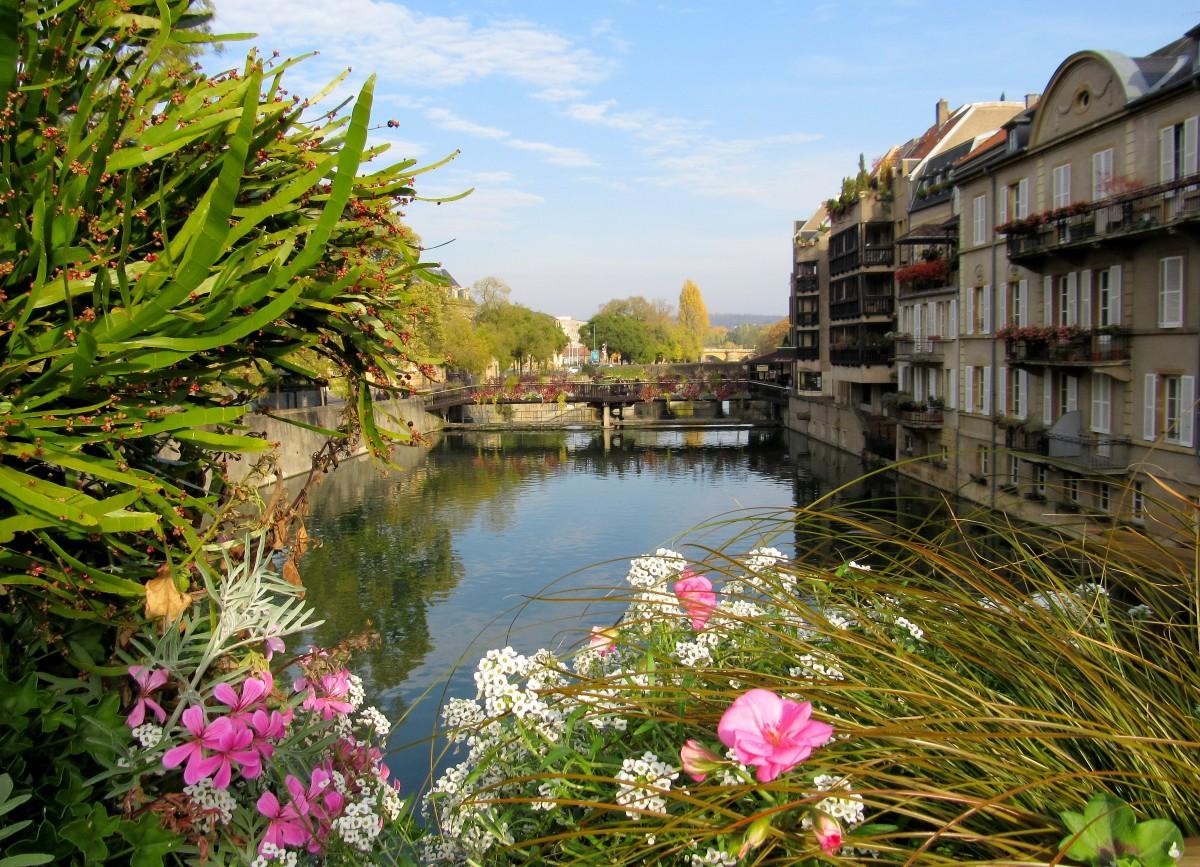 Zdjęcia: Metz, Lotaryngia, zawsze w kwiatach..., FRANCJA
