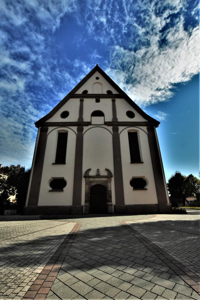 Zdjęcia: Lauterbourg, Alzacja, Lauterbourg, kościół katolicki, FRANCJA