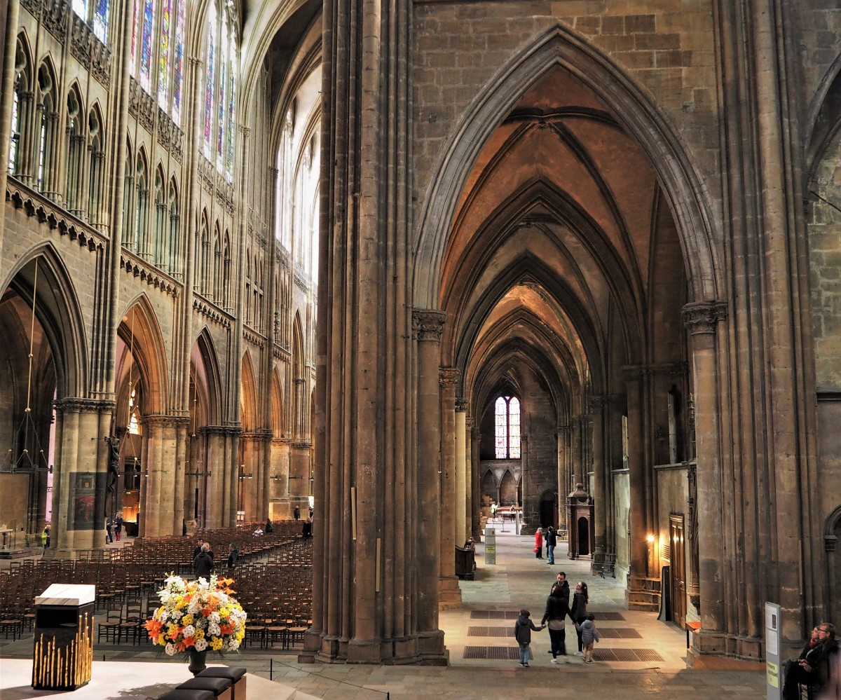 Zdjęcia: Metz, Lotaryngia, Cathédrale Saint-Étienne de Metz..., FRANCJA