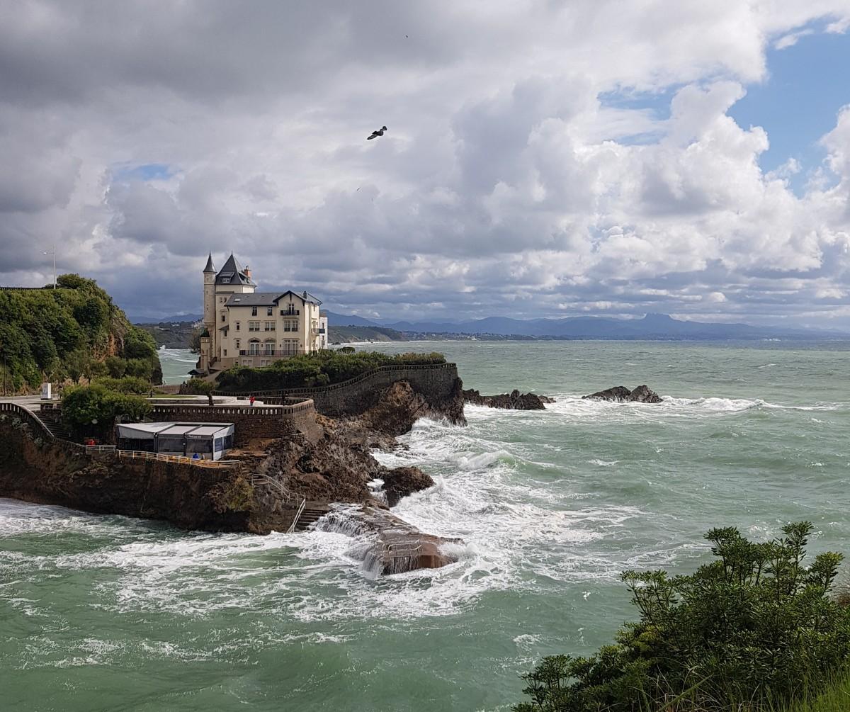 "Zdjęcia: Biarritz, Nowa Akwitania, Villa ""La Roche Ronde"", FRANCJA"