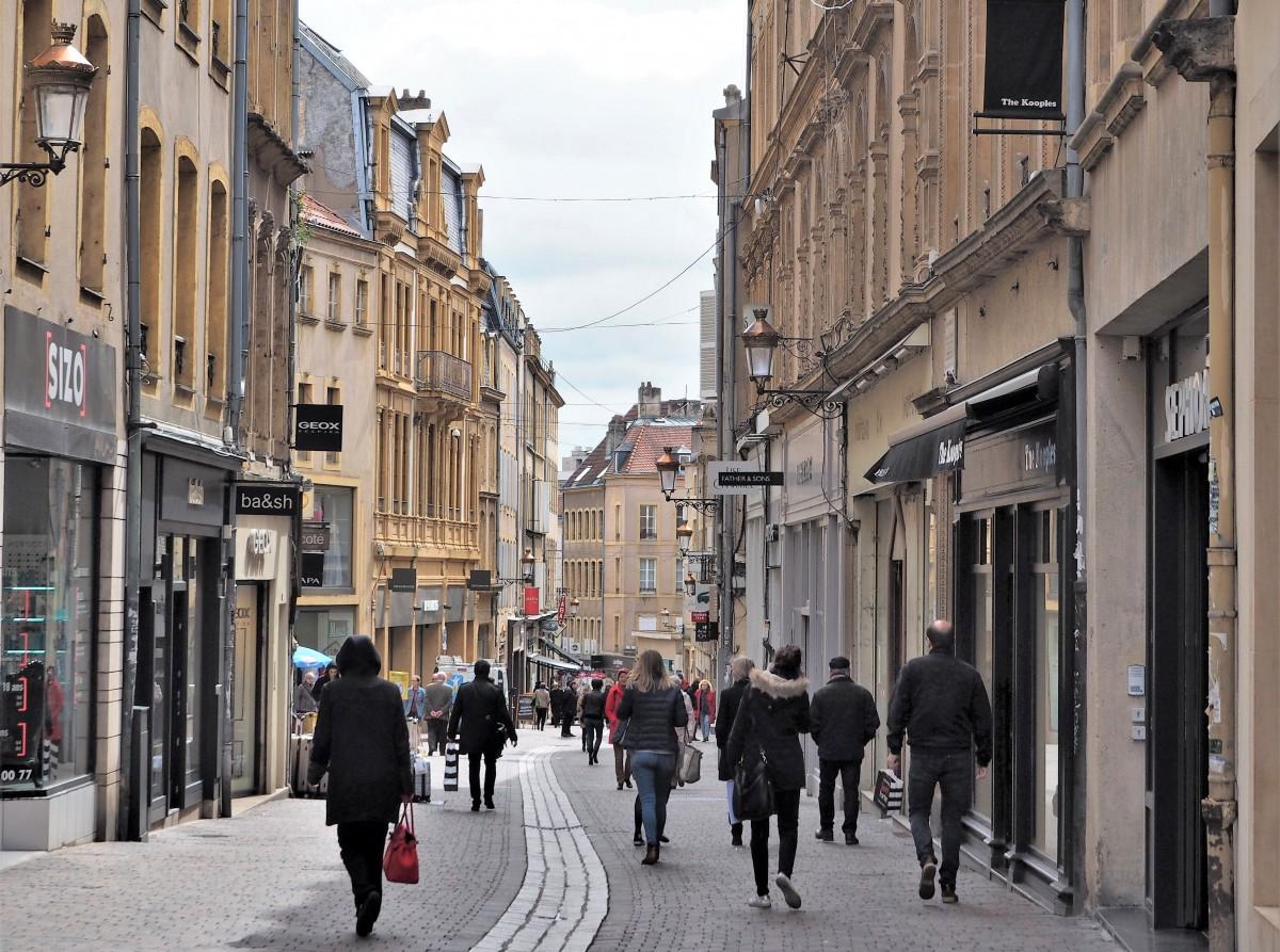 Zdjęcia: Metz, Lotaryngia, dzień, jak codzień..., FRANCJA