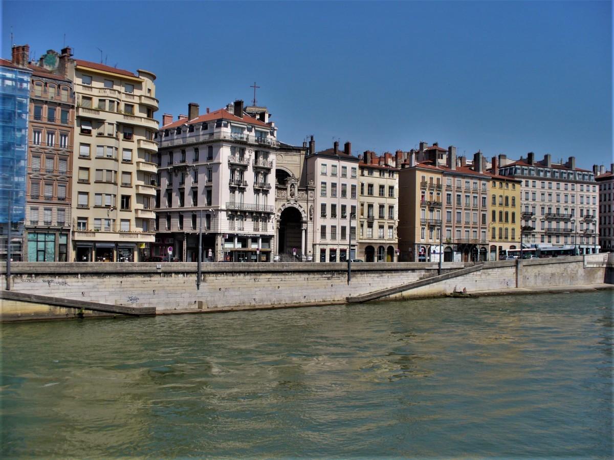 Zdjęcia: Lyon, Owernia-Rodan-Alpy, Lyon, kamienice, FRANCJA