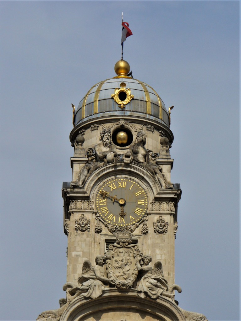 Zdjęcia: Lyon, Owernia-Rodan-Alpy, Lyon, wieża ratuszowa, FRANCJA