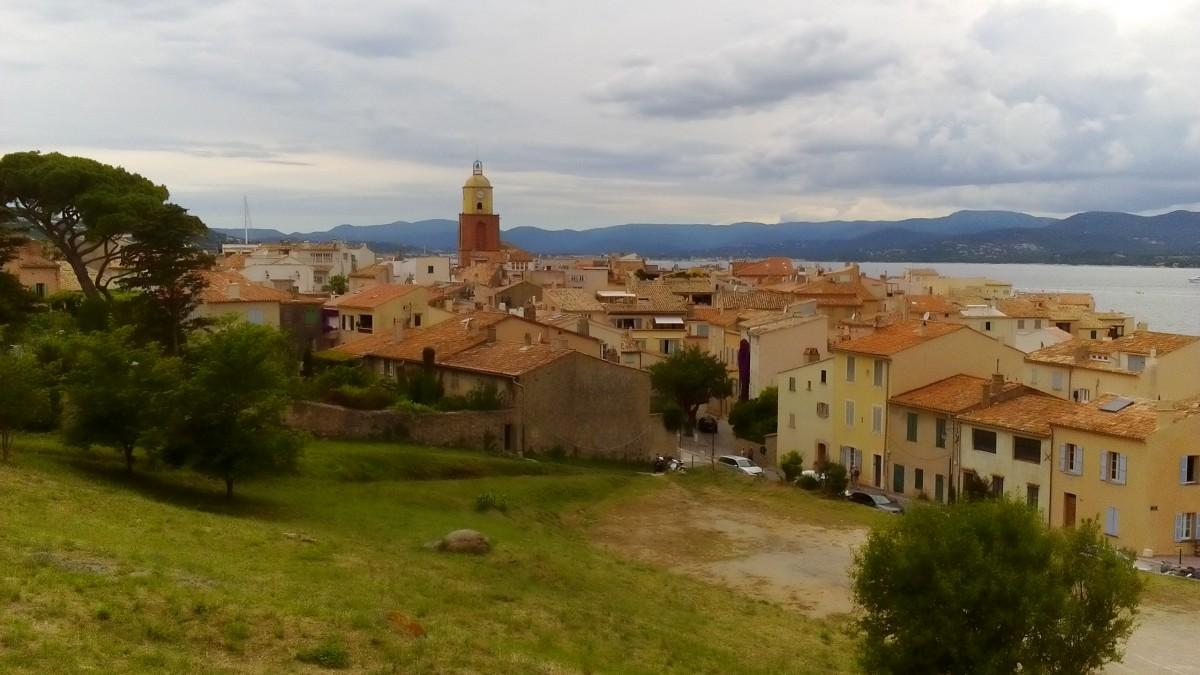 Zdjęcia: Saint-Tropez, Lazurowe Wybrzeże, Panorama Saint-Tropez, FRANCJA