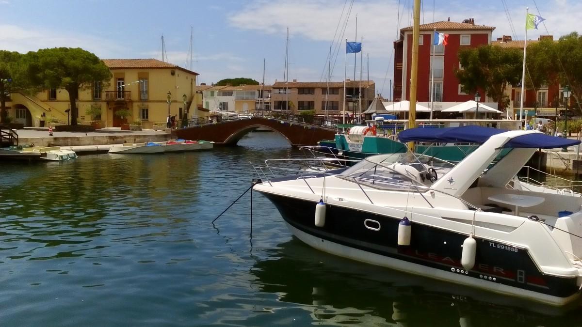 Zdjęcia: Port Grimaud, Lazurowe Wybrzeże, Malowniczy Port Grimaud, FRANCJA