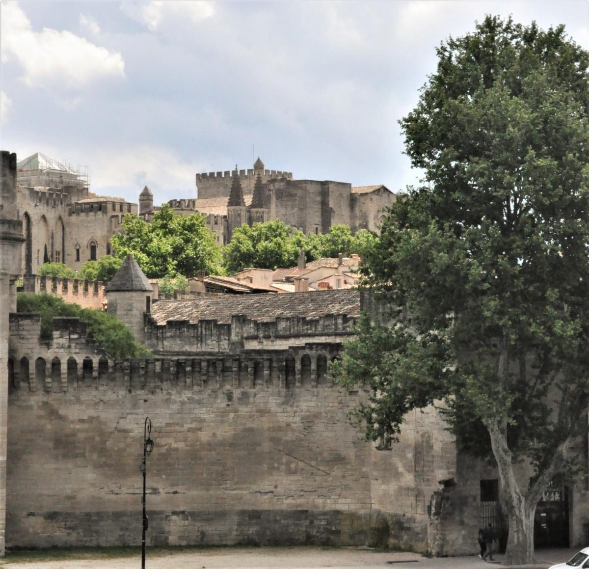 Zdjęcia: Avignon, Prowansja, Avignon, zakanarki, FRANCJA