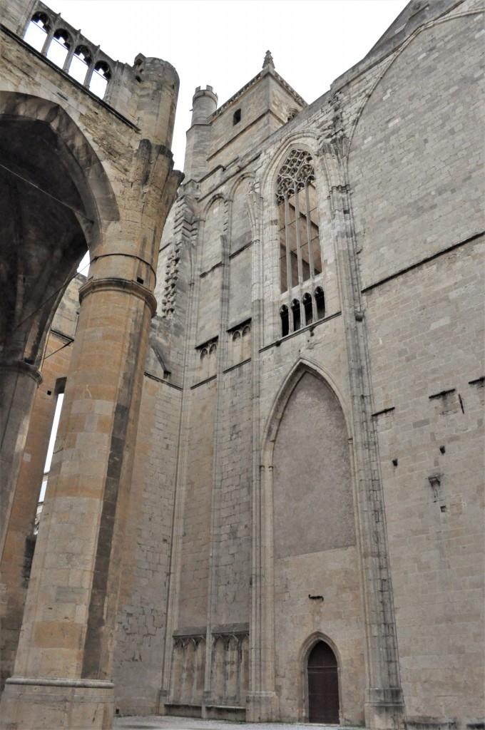 Zdjęcia: Narbonne, Oksytania, Narbonne, niedokończona katedra, FRANCJA