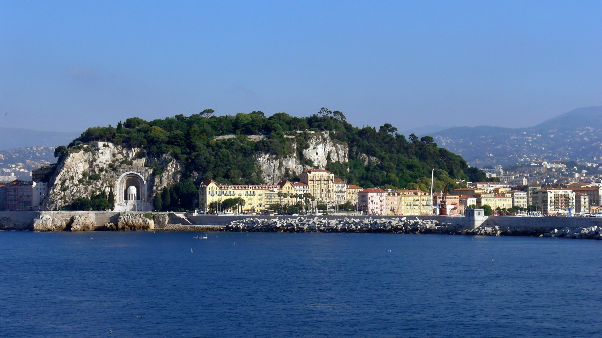 Zdjęcia: Nice, Côte d'Azur, Wzgorze zamkowe, FRANCJA