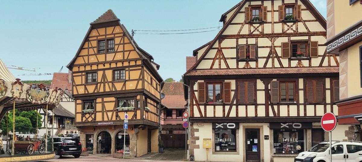 Zdjęcia: miasto, Alzacja, a Obernai , FRANCJA