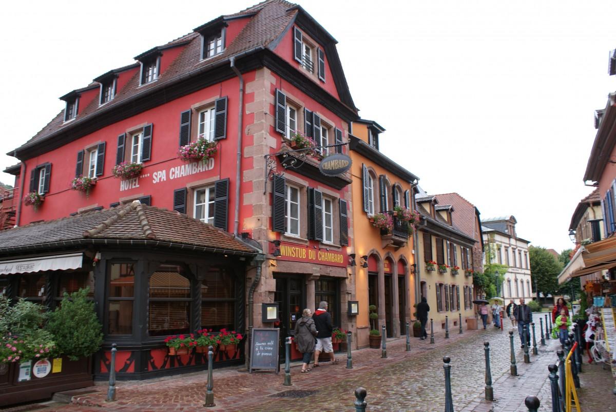 Zdjęcia: KAYSERSBERG, EUROPA, MIASTECZKA FRANCJI, FRANCJA
