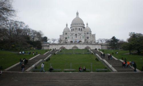 Zdjęcie FRANCJA / Île-de-France / Paryż / Bazylika Sacré-Cœur na Montmartre
