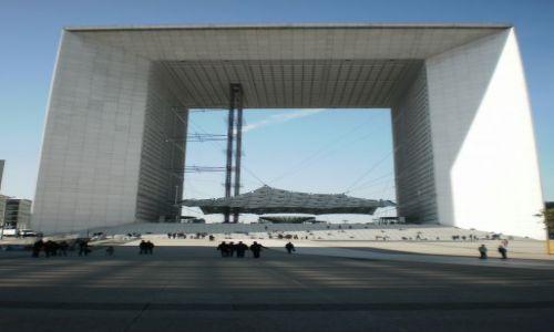 Zdjęcie FRANCJA / Île-de-France / La Défense / Wielki Łuk/Brama/Okno na świat