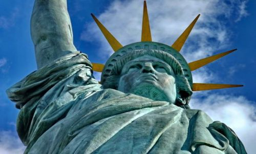 Zdjecie FRANCJA / Ile-de-France / Paris / Statua wolności w Paryżu