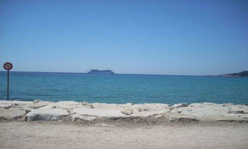 Zdjęcie FRANCJA / Lazurowe Wybrzeze / Sanary / Nad blekitnym morzem