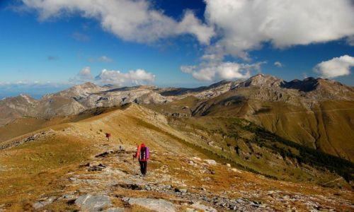 Zdjecie FRANCJA / Alpy Liguryjskie / Fragment pasa granicznego  / Liguryjska wędrówka...