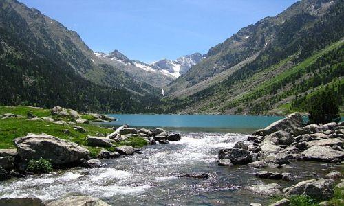 Zdjecie FRANCJA / . / Pireneje francuskie / Jezioro Gaube