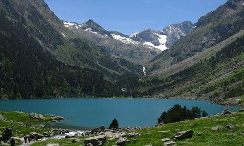 Zdjecie FRANCJA / ok. Cauterets / Pireneje francuskie / Lac de Gaube